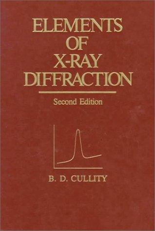 Elements of x-ray diffraction