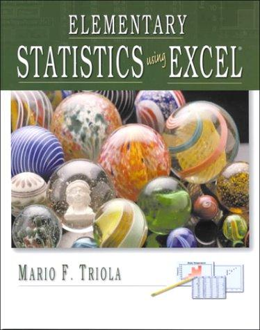 Download Elementary Statistics Using Excel