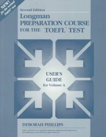 Longman Preparation Course for the Toefl