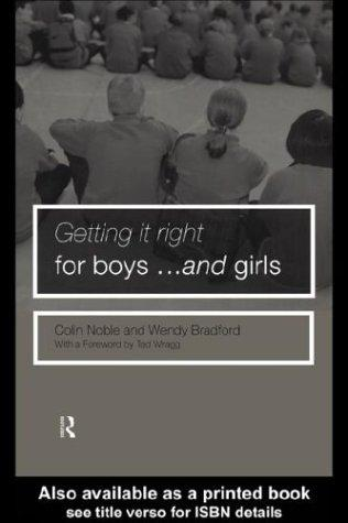 Getting It Right for Boys and Girls