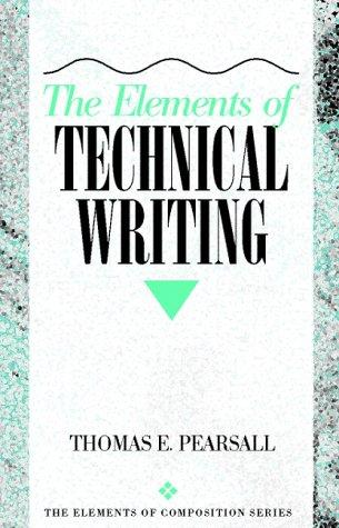 Download The elements of technical writing