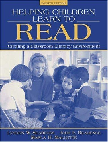 Download Helping children learn to read