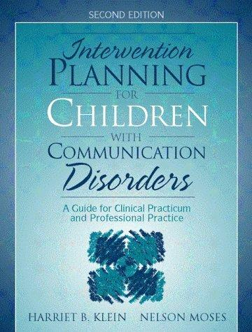 Download Intervention planning for children with communication disorders