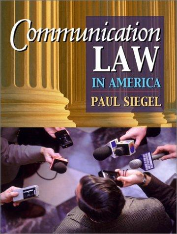 Download Communication law in America