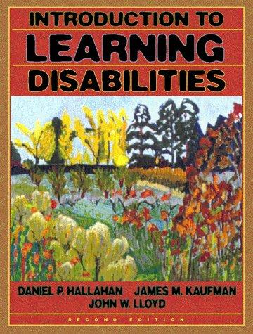 Introduction to learning disabilities