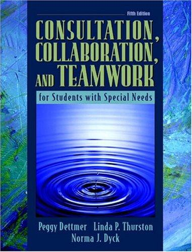 Download Consultation, collaboration, and teamwork for students with special needs