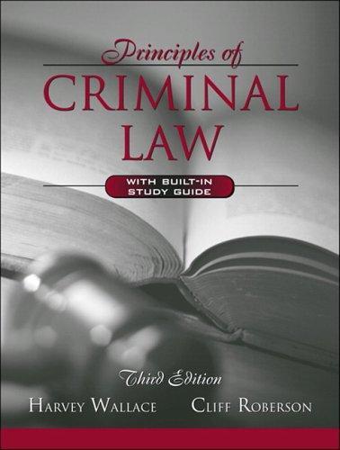 Download Principles of criminal law