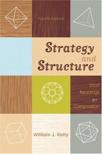 Strategy and Structure (4th Edition)