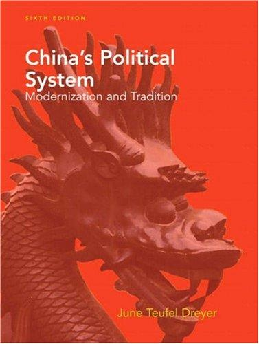 China's Political System (6th Edition)