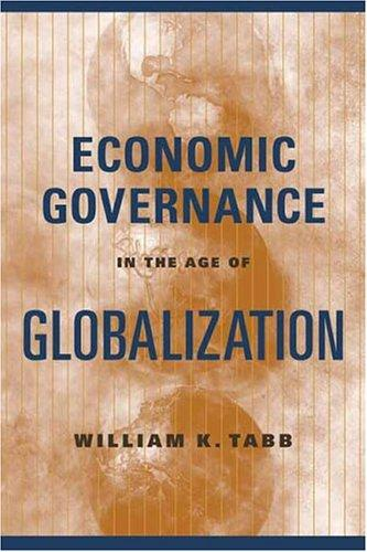 Download Economic Governance in the Age of Globalization