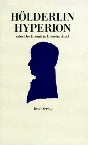 Hyperion oder Der Eremit in Griechenland.