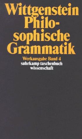 Philosophische Grammatik.