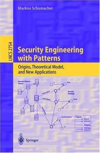 Download Security Engineering with Patterns