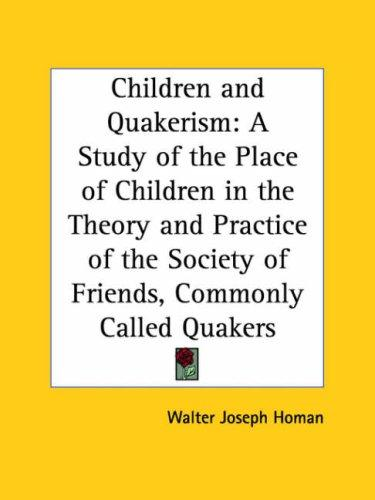 Children and Quakerism