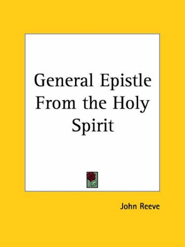 Download General Epistle From the Holy Spirit