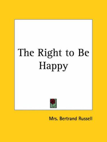 Download The Right to Be Happy