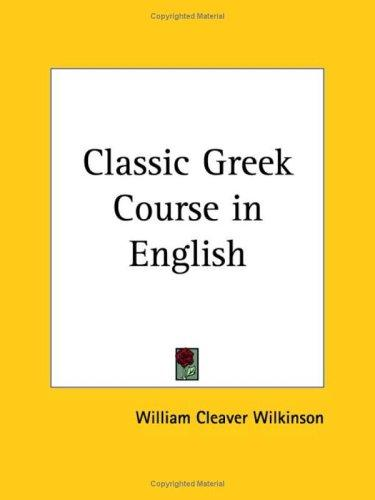 Download Classic Greek Course in English