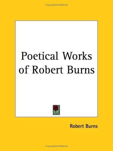 Download Poetical Works of Robert Burns