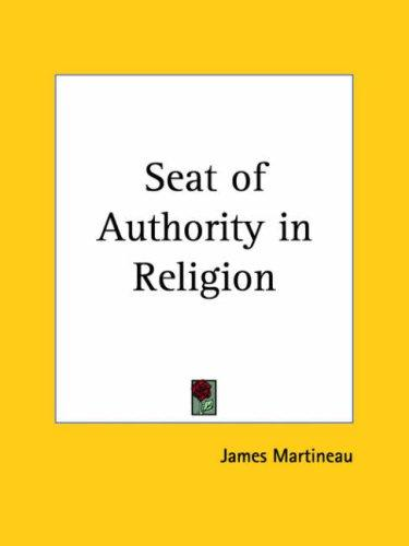 Seat of Authority in Religion