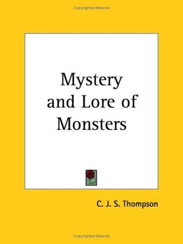 Download Mystery and Lore of Monsters