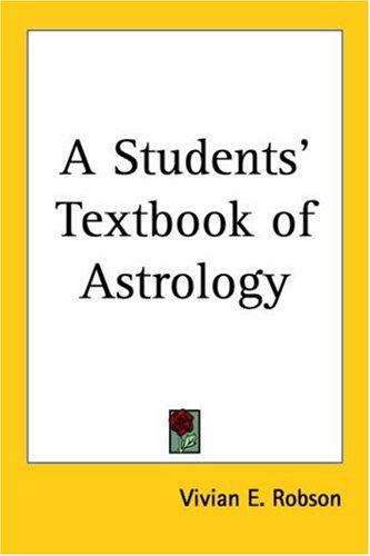 Download A Students' Textbook of Astrology