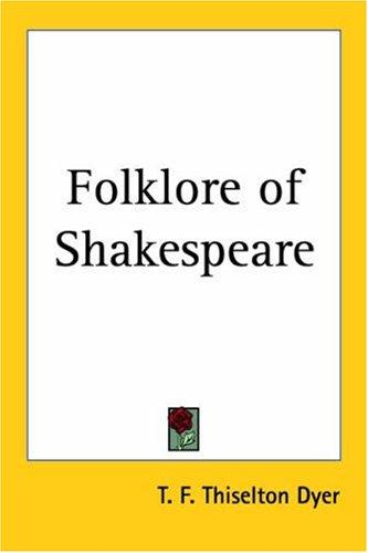 Download Folklore of Shakespeare