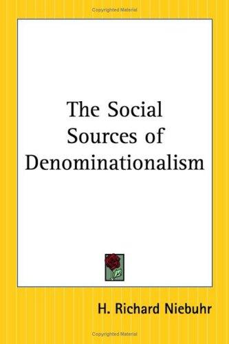 Download The Social Sources Of Denominationalism