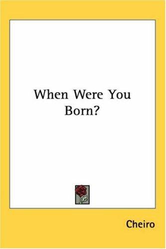 When Were You Born?
