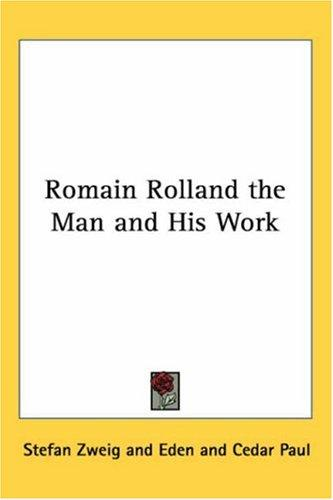 Download Romain Rolland the Man and His Work