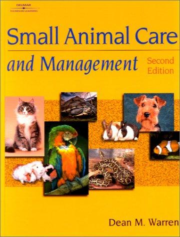 Download Small Animal Care & Management