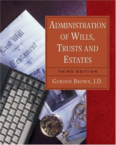 Download Administration of wills, trusts, and estates