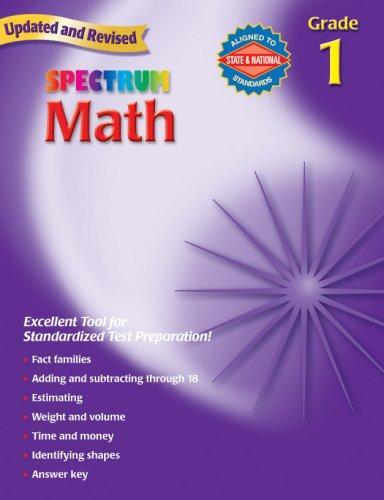 Download Spectrum Math, Grade 1 (Spectrum)