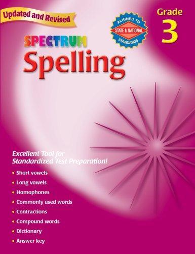 Spectrum Spelling, Grade 3 (Spectrum)