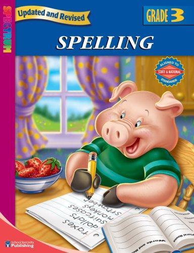 Download Spectrum Spelling, Grade 3 (Spectrum)