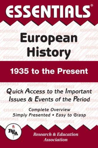 Essentials of European History