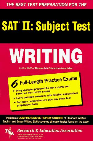 Download The best test preparation for the SAT II, subject test, writing