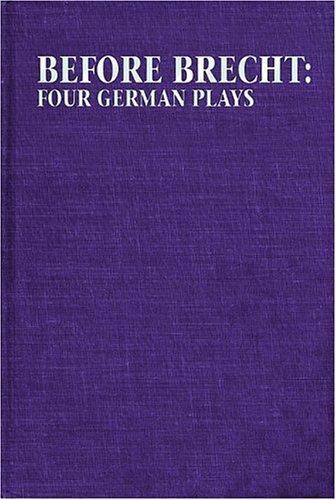 Download Before Brecht