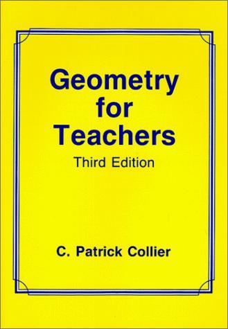 Geometry for teachers
