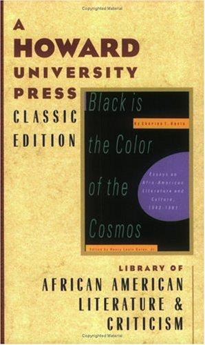 Download Black is the color of the cosmos