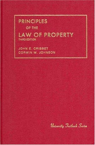 Download Principles of the law of property
