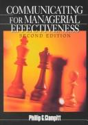 Download Communicating for managerial effectiveness