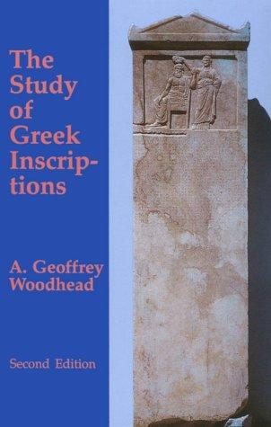 Download The study of Greek inscriptions