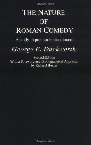 Download The nature of Roman comedy