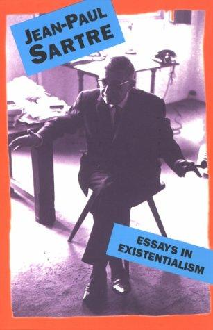 Download Essays In Existentialism