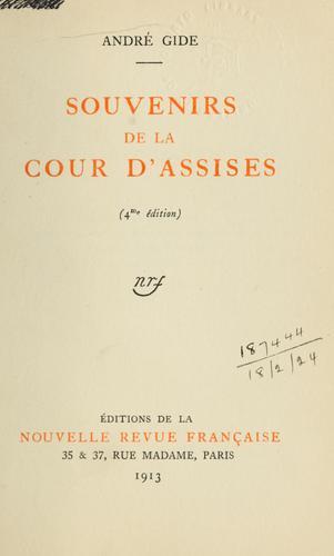 Download Souvenirs de la Cour d'assises.
