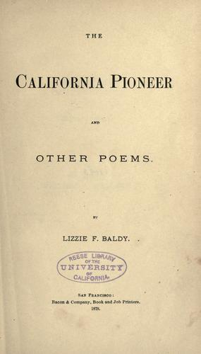 The California pioneer