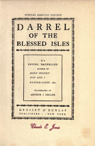 Darrel of the blessed isles.