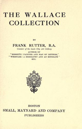 Download The Wallace collection