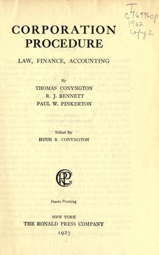 Download Corporation procedure