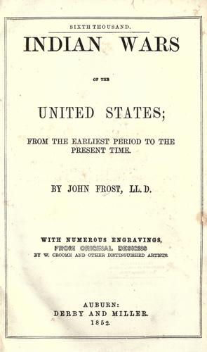 Download Indian wars of the United States